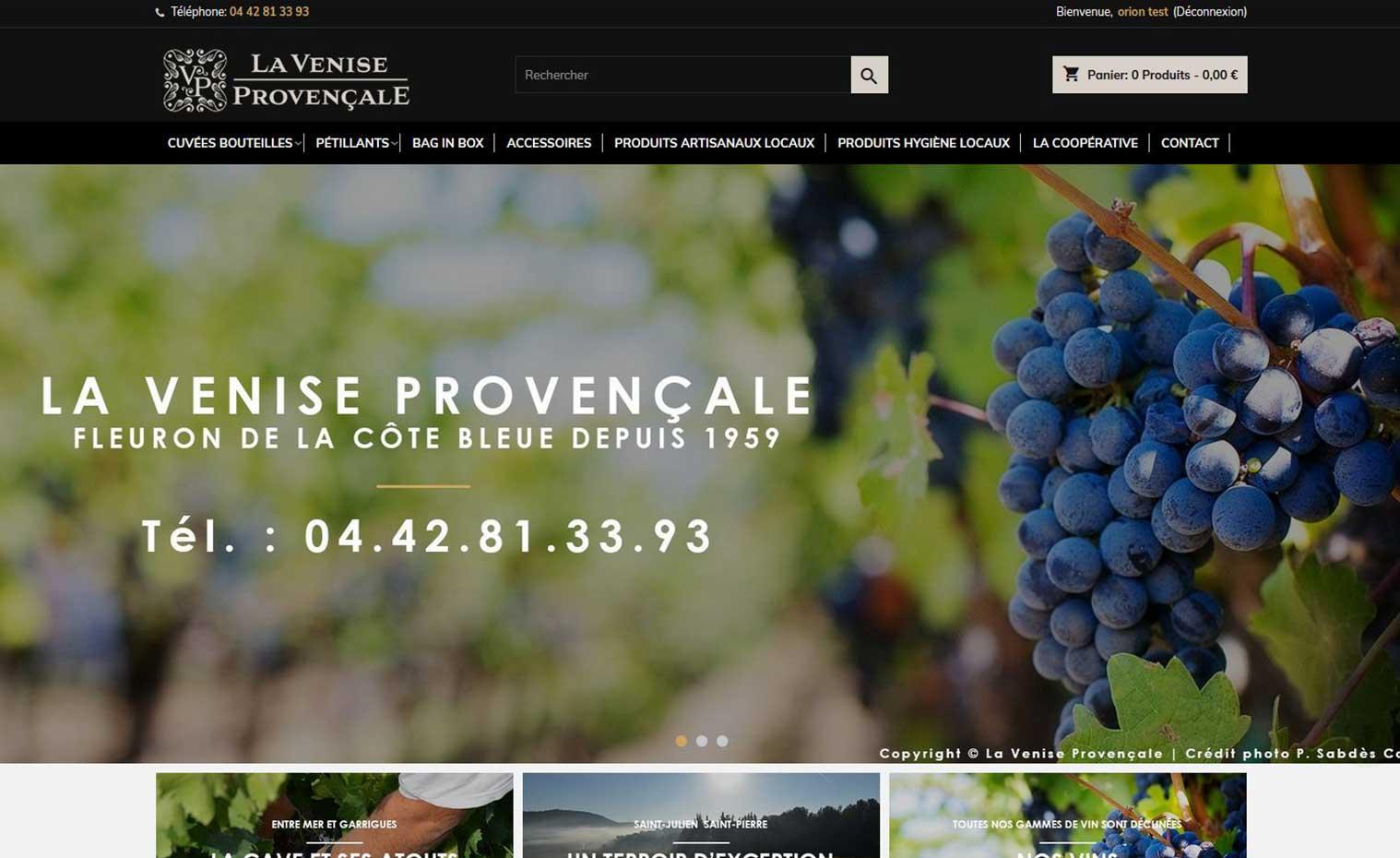 La Venise Provençale Boutique En Ligne